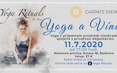 11.7.2020 - Yoga a Víno v Carpate Diem